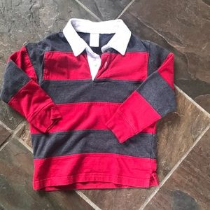 Boys 5 rugby shirt. Great condition. Gymboree.